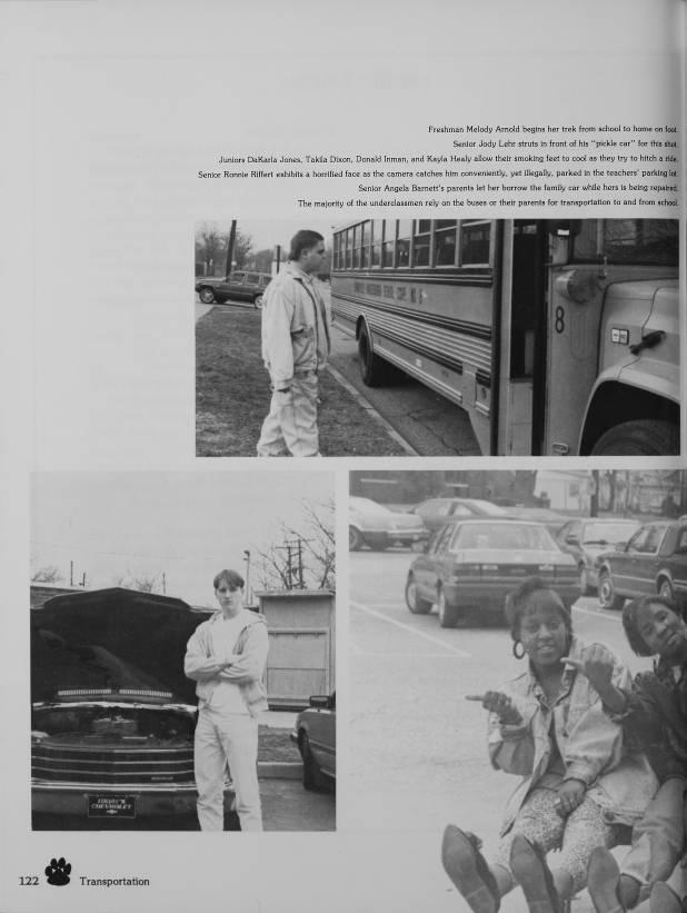 Transportation Evansville Yearbooks Digital Archive